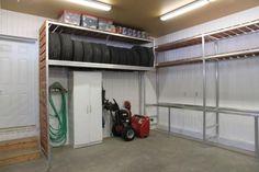 Rangement Garage Ikea, Loft, Bed, Google, Furniture, Home Decor, Projects, Decoration Home, Stream Bed