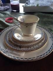 ROYAL DOULTON JOSEPHINE BLUE TEA SET