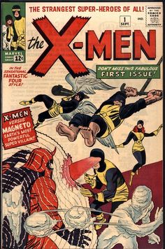 The X-Men, co-created by Stan Lee and Jack Kirby, first appeared in X-Men September They have remained an important part of the Marvel publishing and cinematic Universe since then. Comic Book Superheroes, Marvel Comic Books, Comic Book Characters, Comic Books Art, Book Art, Comic Art, Hulk Comic, Marvel Comics, Action Comics