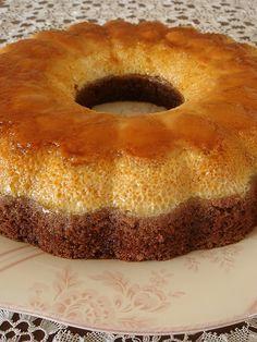 Krem Karamelli Kek   Yemek Zevki Snack Recipes, Dessert Recipes, Snacks, Cake Cookies, Cupcake Cakes, Flan Au Caramel, Cake Shapes, Pudding Cake, Turkish Recipes