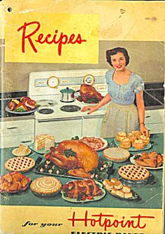1950 Recipes for your Hotpoint Electric Range