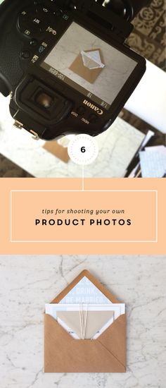 Product photography tips for bloggers and business owners.