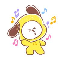 Discover & share this Animated GIF with everyone you know. GIPHY is how you search, share, discover, and create GIFs. Bts Cute, Cute Gif, Cartoon Gifs, Cute Cartoon, Frases Bts, Bt 21, Line Friends, Bts Chibi, Line Sticker