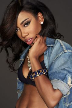 Sevyn Streeter. <3   Your eyebrows might be nice, but you not in sevyn streeters league. #perfection