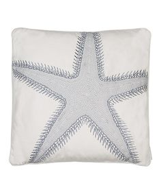 This Starfish Throw Pillow by Levtex Home is perfect! #zulilyfinds