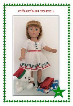 Ravelry: Christmas Dress 2 pattern by UNA HENDRY