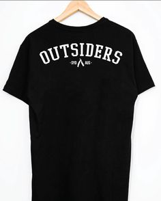 Outsiders Tee @staysharpco  Shop link in bio  #streetwear #outsiders #tees