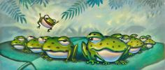 Will Terry - Book Illustrator Funny Frogs, Cute Frogs, Will Terry, Children's Book Illustration, Book Illustrations, Devian Art, Frog Art, Frog And Toad, Bearded Dragon