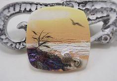 Handgemachte Polymer Clay 34mm Focal Perle von StudioStJames