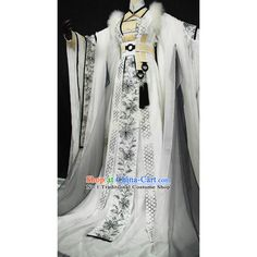 Beautiful Chinese Women White Fairy Costumes ($257) ❤ liked on Polyvore featuring costumes, womens costumes, ladies halloween costumes, womens halloween costumes, fairy costume and lady costumes