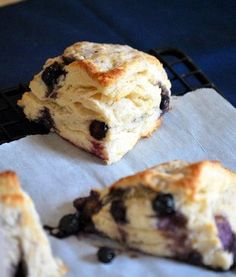 Lemon Blueberry Scones | Baking Bites