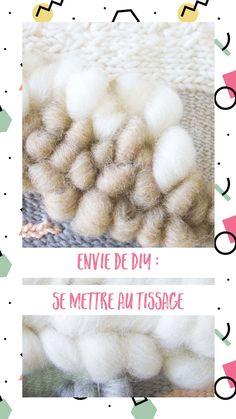 Se mettre au tissage Shag Rug, Crochet Hats, Rugs, Blog, Decor, Weaving, Envy, Shaggy Rug, Knitting Hats