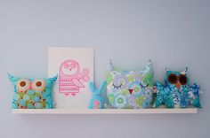 My owl shelf by ZedBee | Zoë Power, via Flickr