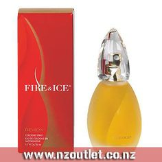 Fire & Ice By #Revlon #Perfume for Women This feminine #scent possesses a blend of tangerine, orange flower, and magnolia. Accompanied by woods, musk and spices. It is recommended for daytime wear.  http://nzoutlet.co.nz/product/product_details/Fire-Ice-By-Revlon