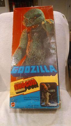 MATTEL GODZILLA SHOGUN WARRIORS Original BOX!! in Godzilla | eBay