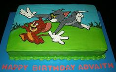 Harshi's Cakes & Bakes: Tom & Jerry - 2