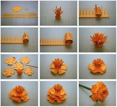 origami flower - 40 Origami Flowers You Can Do | Art and Design