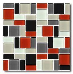 Venecitas Guardas Mosaicos Combinados De Vidrio - $ 100,00