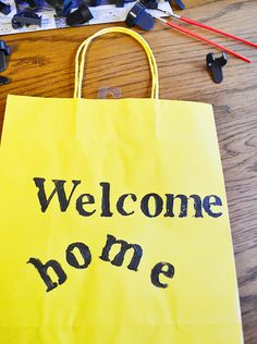 "Help newly adopted pets have a warm welcome home by creating ""Welcome Home"" gift bags for your local animal shelter. Learn how on our blog. #TuesdayMorning"