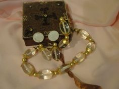 Channel Channel 80's Bold necklace and Clip-on earrings - free shipping