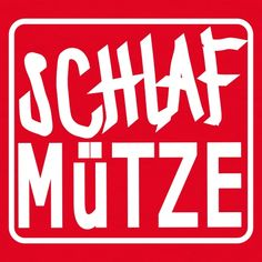Schlafmütze - Männer T-Shirt German Words, Word Up, The Words, Statements, Positivity, Writing, Humor, Motivation, Sayings