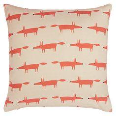 CUTE! £25. Scion Mini Mr Fox Cushion Online at johnlewis.com