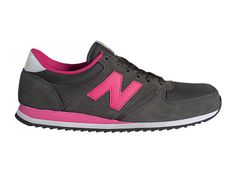 wholesale dealer c9eb6 0691b New Balance 420 - Grey with Pink Skor Online, Nike Skor, Unisex, Grå