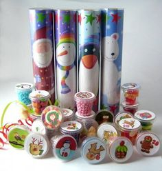 Lots of Pots of Sweets Advent Calendar - click through to see more great Advent calendars