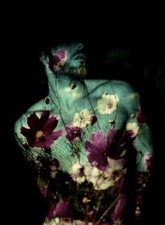 Creative Butch, Queer, Faerie, Macho, and Projections image ideas & inspiration on Designspiration John Batho, Projector Photography, Portrait Studio, Photographie Portrait Inspiration, Photo D Art, Double Exposure, Erotic Art, Faeries, Flower Power