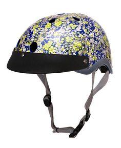 Sawako Furuno Floral Midnight Bike Helmet