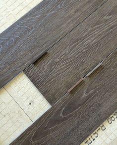 Porcelain Wood Tile Floor Grout Ideas For 2019 Wood Like Tile, Wood Look Tile Floor, Faux Wood Tiles, Floor Grout, Porcelain Wood Tile, Wood Tile Floors, Dark Wood Floors, Tile Grout, Kitchen Flooring