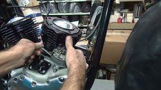 1965 panhead #152 74ci flh motor rebuild and bike repair harley by tatro...