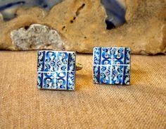 https://www.etsy.com/listing/106658150/portugal-blue-azulejo-tile-cufflinks