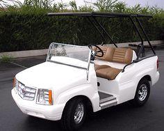 Cadillac Escalade Golf Cart.