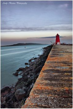 Poolbeg Lighthouse by Andy Barisa