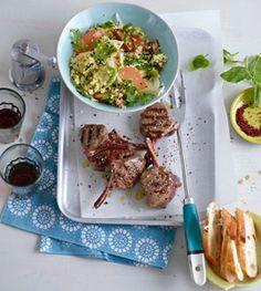Couscous-Salat mit Lamm - Couscous, Bulgur & Polenta - [LIVING AT HOME]