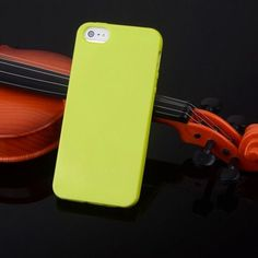 Candy Color Silicone Gel Soft Case For Apple iPhone 5 5S Rubber Soft Back Skin Shockproof Phone Case