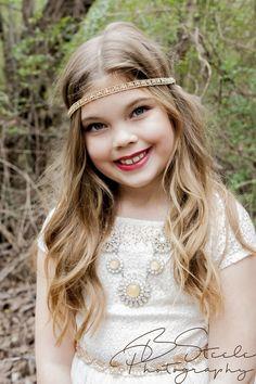 child model, arkansas, eight yr old birthday shoot.