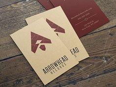 Arrowhead Records Business Cards