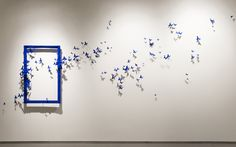 Artist Paul Villinski Brings Flight to the Gallery with Swarms of Repurposed Aluminum Can Butterflies