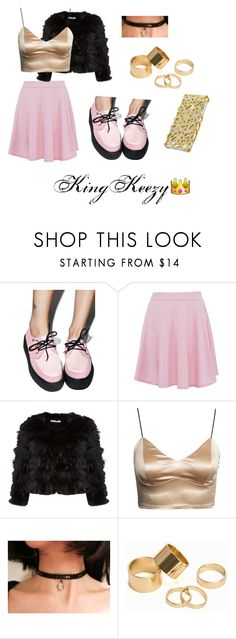 Pretty in Pink by arkiamiller on Polyvore featuring Alice + Olivia, T.U.K., Pieces, Marlangrouge, women's clothing, women's fashion, women, female, woman and misses