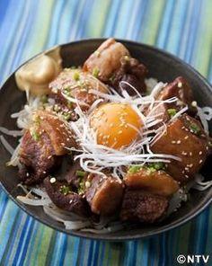 もこみち流 豚の角煮丼 ~圧力鍋で~ | MOCO'Sキッチン | ZIP!