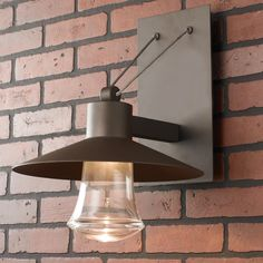 Check out LED Cable Suspended Wall Lantern - Small from Shades of Light Outdoor Wall Lantern, Outdoor Lighting, Fresco, Stainless Steel Cable, Wall Mounted Light, Power Led, Exterior Lighting, Sconce Lighting, Led Lamp