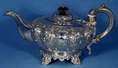 Tea Set. Made - William Hunter. in 1839