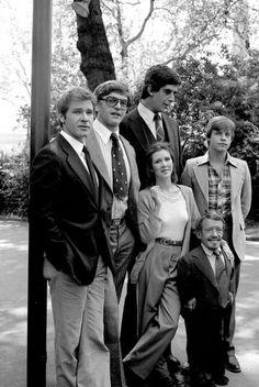 The original cast of Star Wars!!!