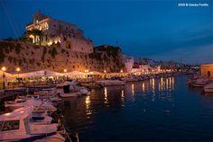 Ciutadela por la noche #Menorca #Spain
