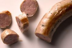 Homemade Weisswurst Sausage