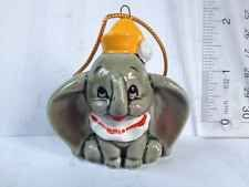 Dumbo porcelain christmas ornament figurine