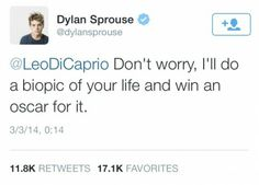 Another good Dylan sprouse tweet