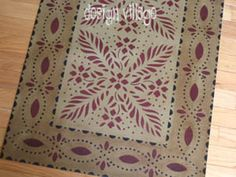 Durant House Floorcloth